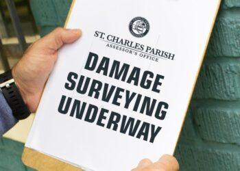 Damage Surveying Underway