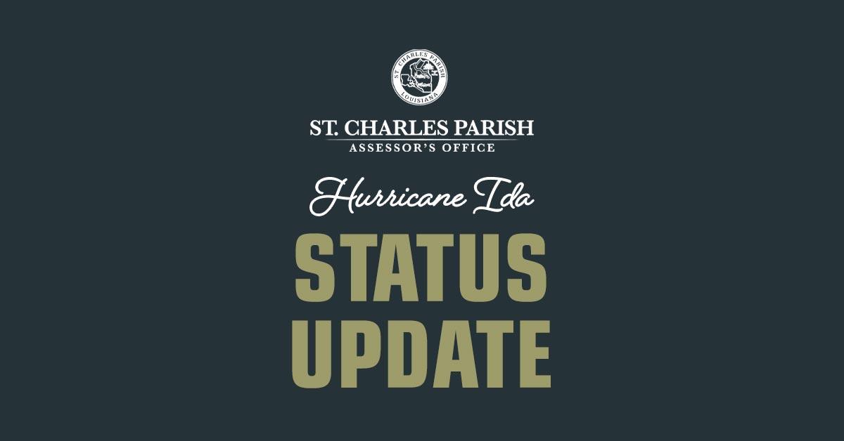 Hurricane Ida Status Update